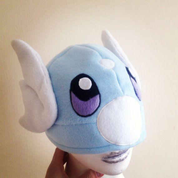 Homemade pokemon hat Dratini by KurtabraHats on Etsy, £23.00   Ideas ...