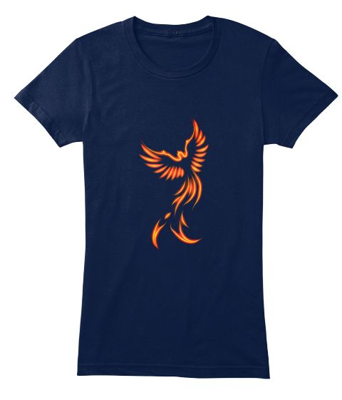 Phoenix Navy Women's T-Shirt Front