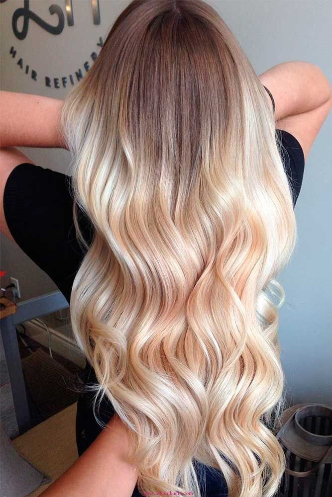 Alt N Sar S Ombre Modelleri Ombre Sa Modelleri Pinterest Hair Style Hair Coloring And