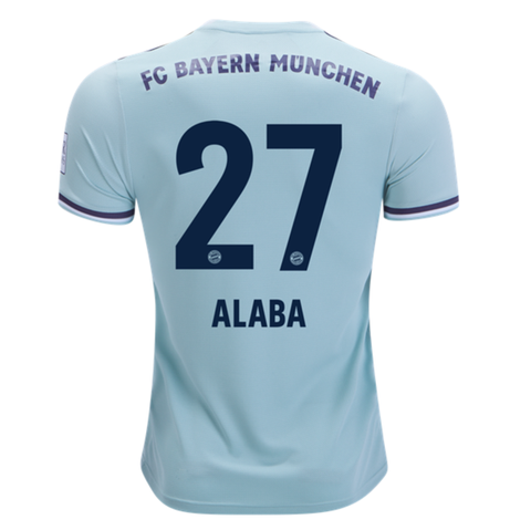 a64020446 Bayern Munchen 18 19 Away Men Soccer Jersey Personalized Name and Number -  zorrojersey