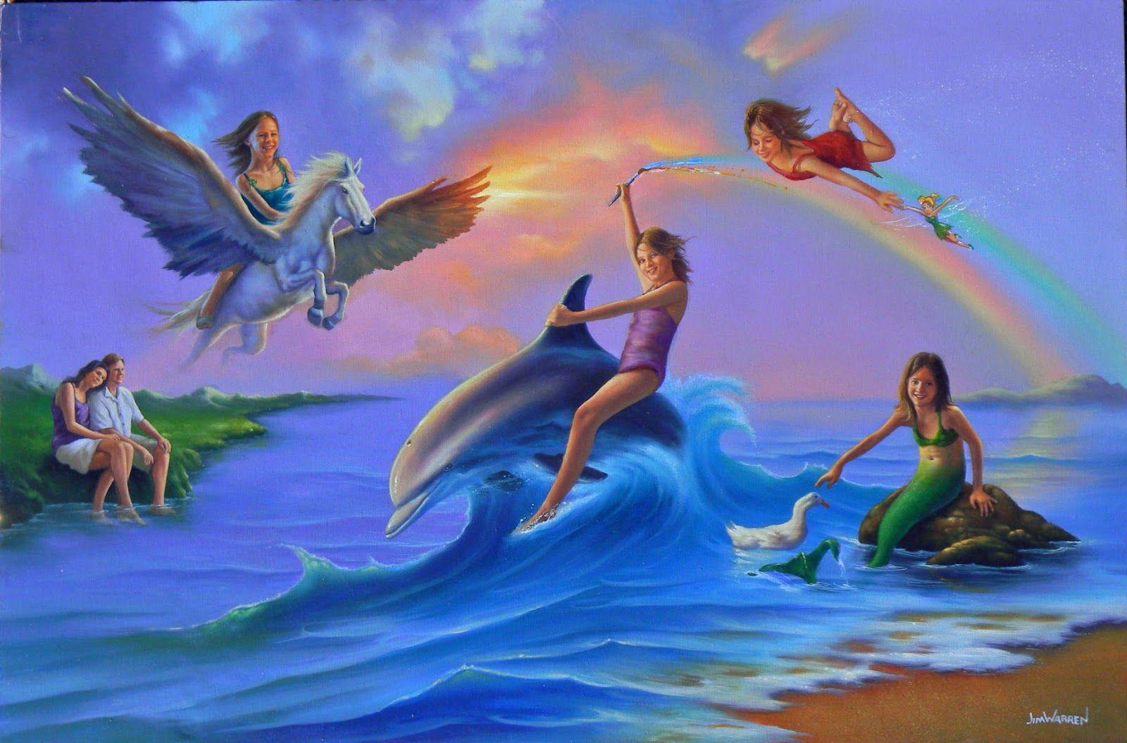 + Jim Warren - - - Love of Nature   Seascape artists, Cool