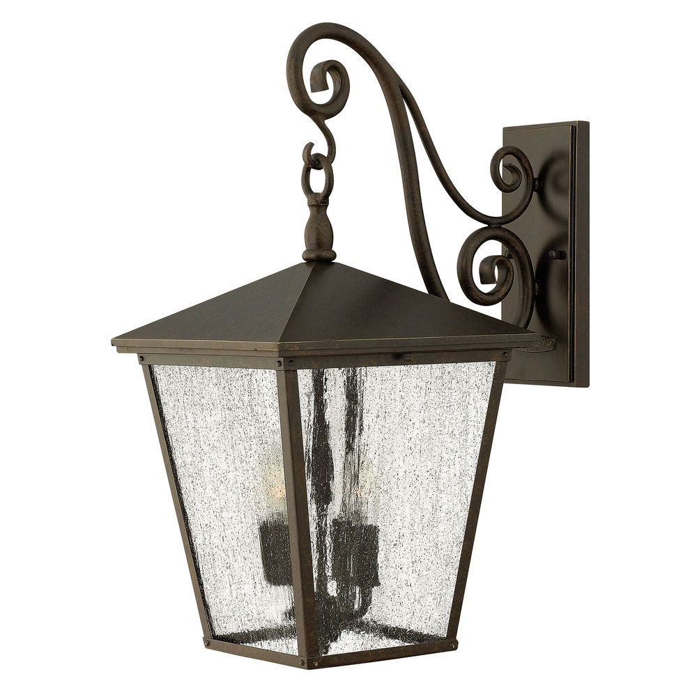 hinkley lighting trellis large wall light outdoor lantern hk