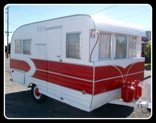 1000 Images About Vintage Campers On Pinterest Vintage Trailers