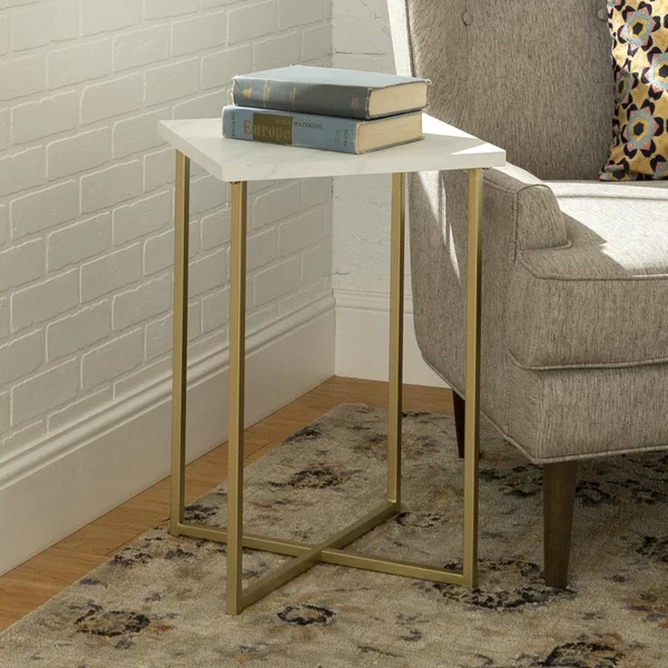 Dominique Square End Table End Tables Furniture Square Side Table