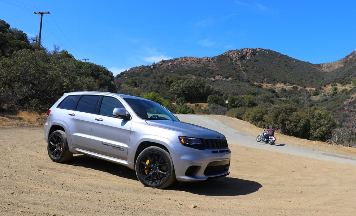 Grand Cherokee Trackhawk Is A Dumb Idea But We Love It Jeep Grand Jeep Grand Cherokee Hellcat Engine