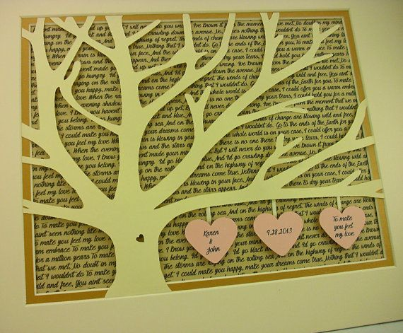Wedding Vows Print Song Lyrics Wall Art Personalized Gift For S Anniversary