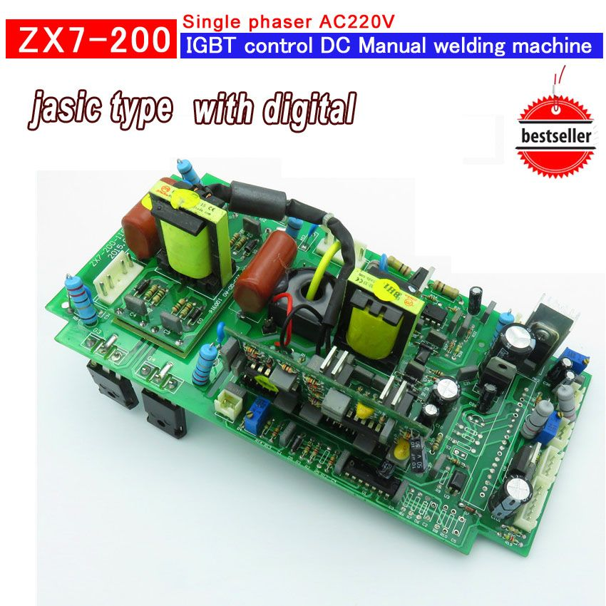 upper main control circuit board house used zx7 200 inverter  sn 390 adjustable rotary welding