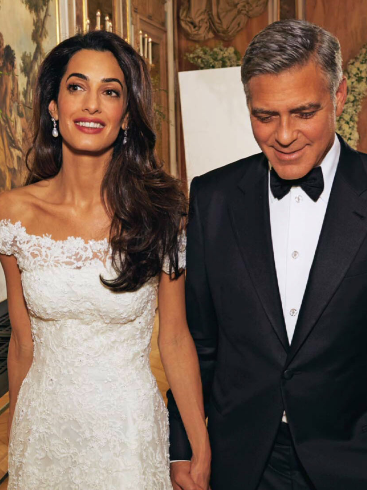 Amal And George Clooney At Their 2014 Italian Wedding