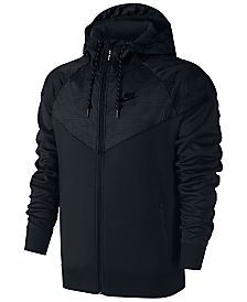 Nike Men s Air Hybrid Fleece Windrunner Hoodie  4316efb365b