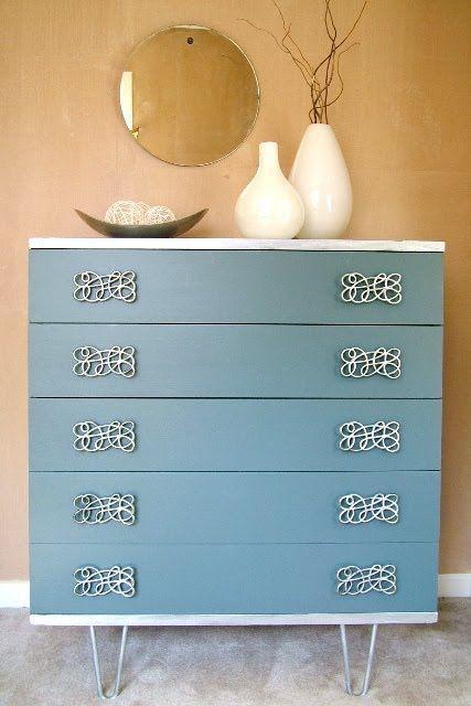 How To Paint A Dresser Vintage Dresser Makeover Furniture