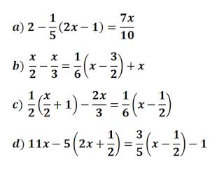 Ecuaciones Con Parentesis Y Denominadores Ecuaciones Primeros Grados Como Resolver Ecuaciones