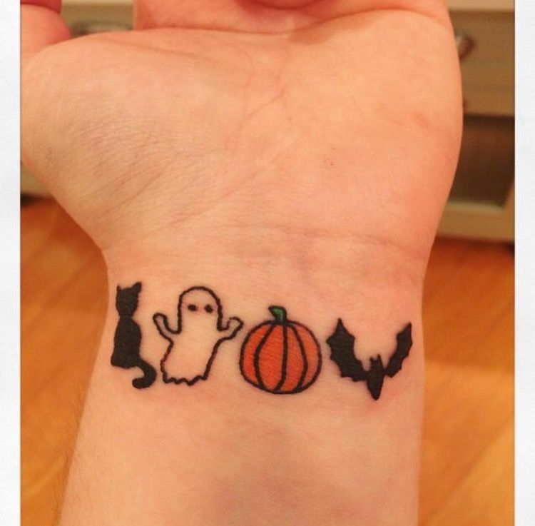 Halloween Style Tattoos: Pumpkin Tattoo, Tattoos, Cute Halloween
