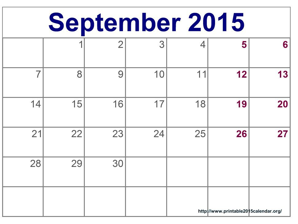 September and October 2016 Calendar September 2016 Calendar