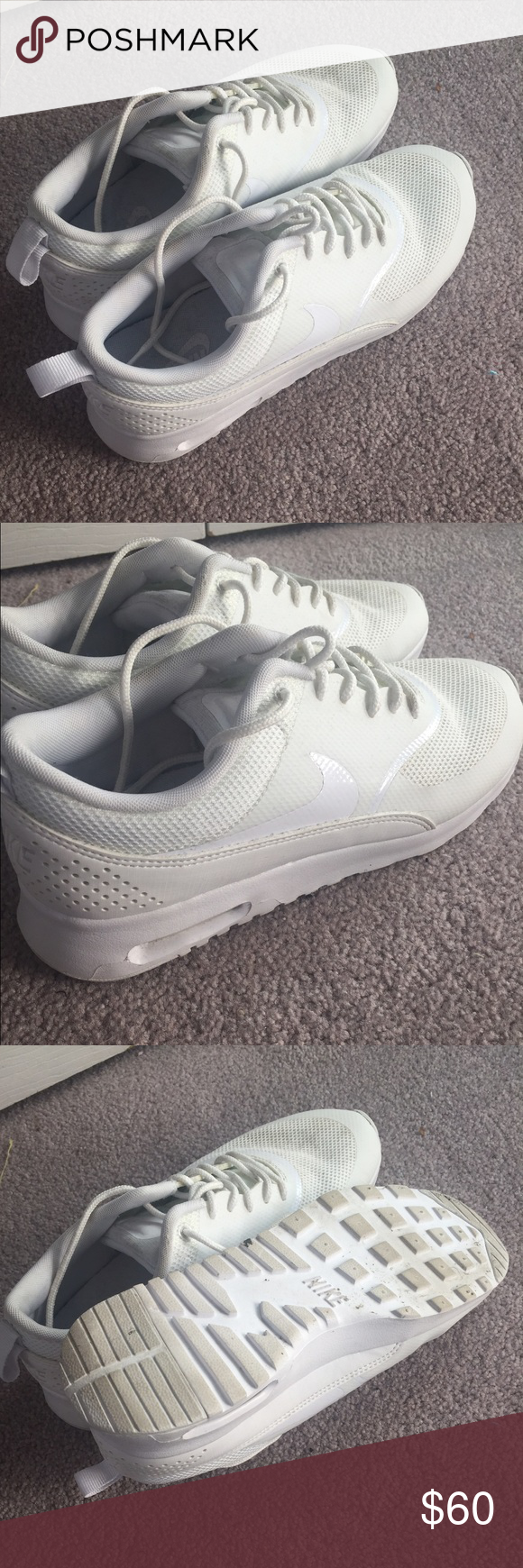 how to clean nike air max thea