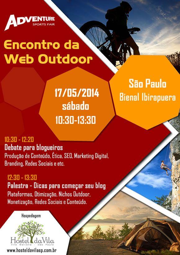 Encontro da Web Outdoor na Adventure Sports Fair - Trekking Brasil - Saiba mais!