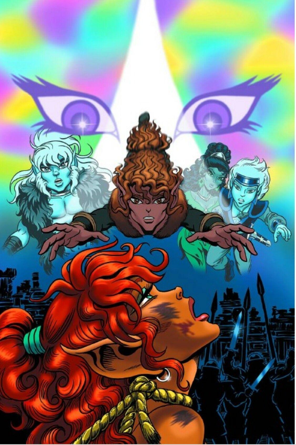 Pin by Desert Rose on ElfQuest   Graphic novel art, Dark horse comics, Dark horse