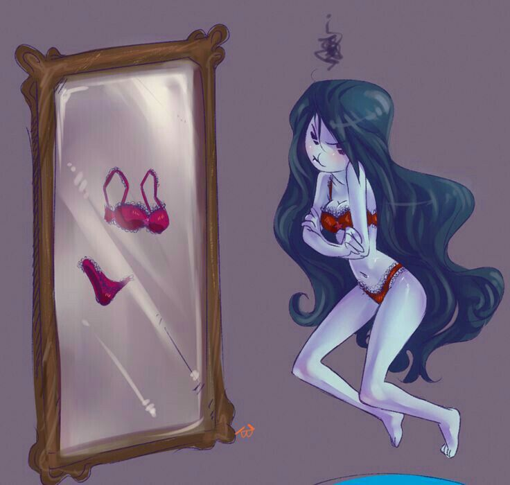 053097751d1b Adventure Time Marceline Abadeer Marcy Vampire Queen Mirror ...