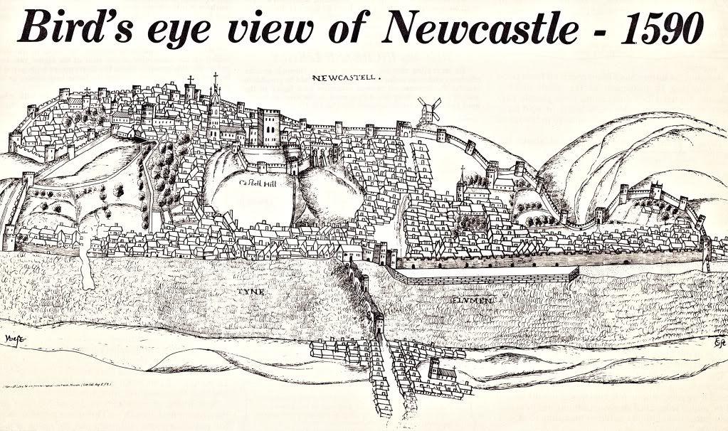 Newcastle Map1590  Historic Newcastle  Pinterest  Newcastle
