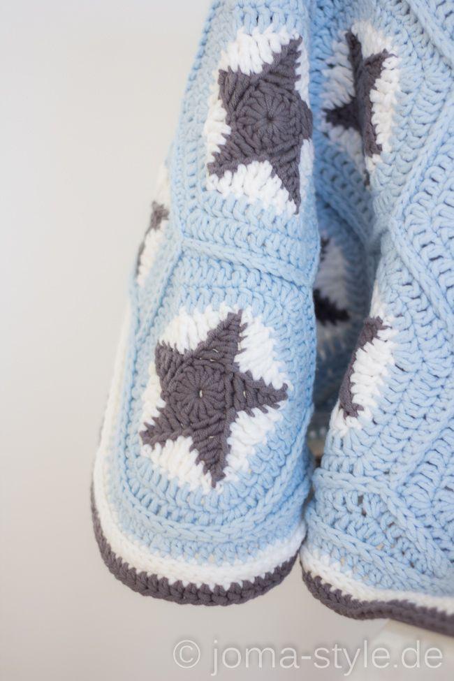 sternenh keldecke joma style crochet granny squares. Black Bedroom Furniture Sets. Home Design Ideas