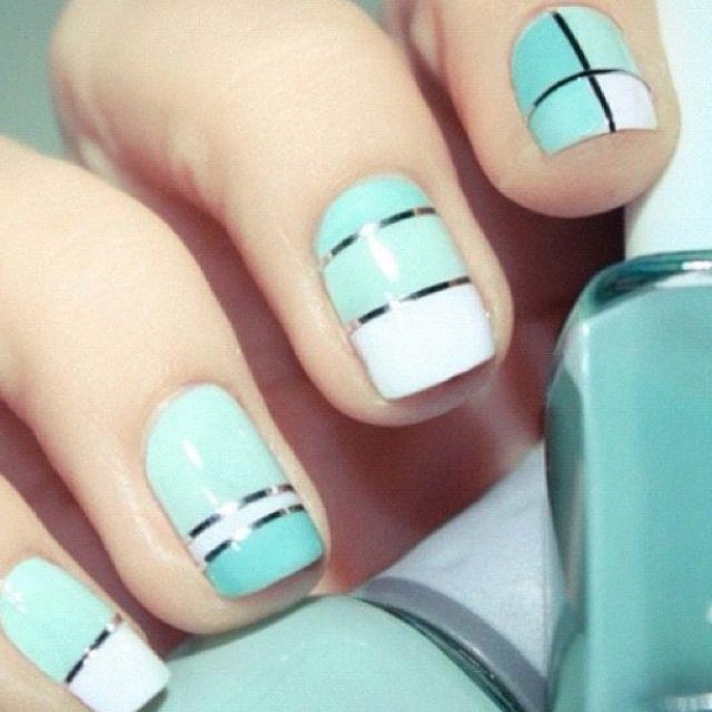 Pretty nails! Love the color!