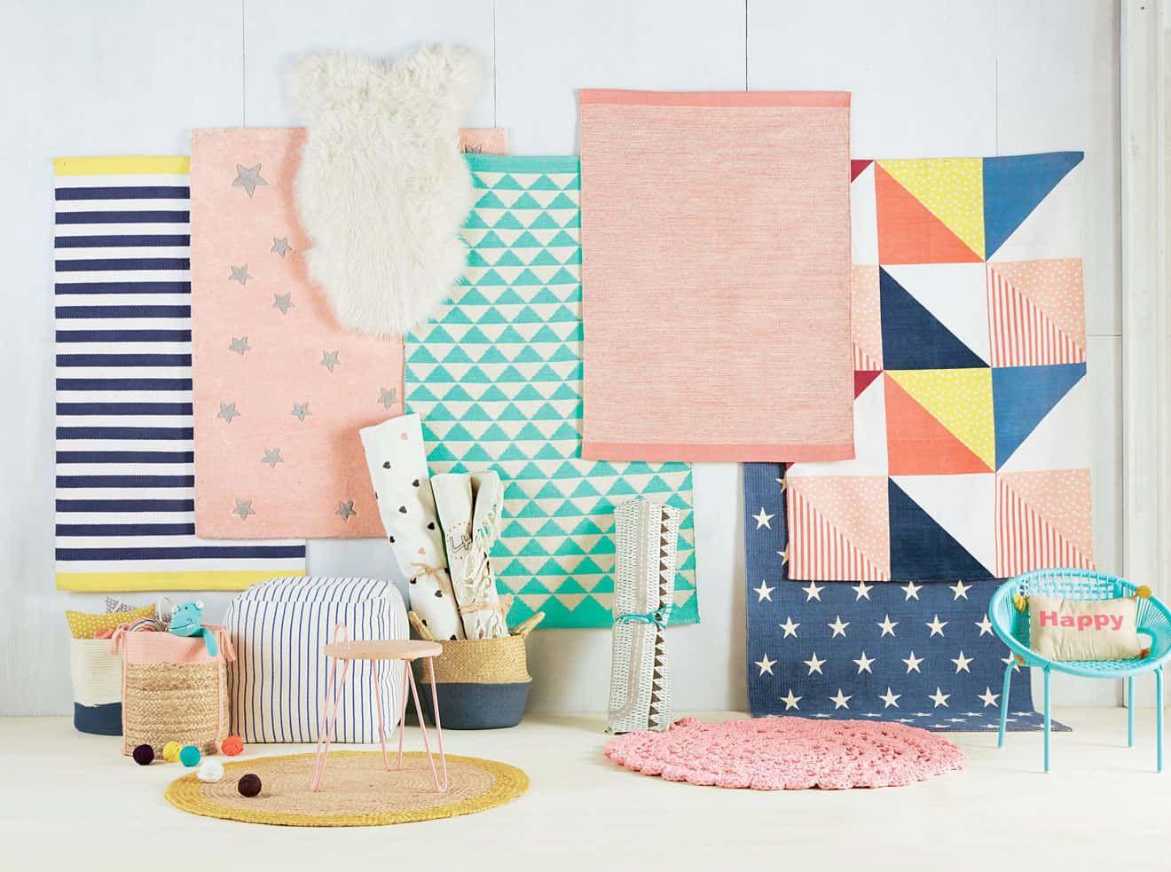 un tapis dans la chambre d'enfant - vertbaudet | chambre bébé