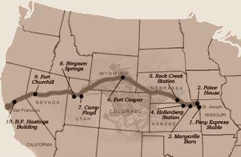 pony express map nevada printable pdf nevada history