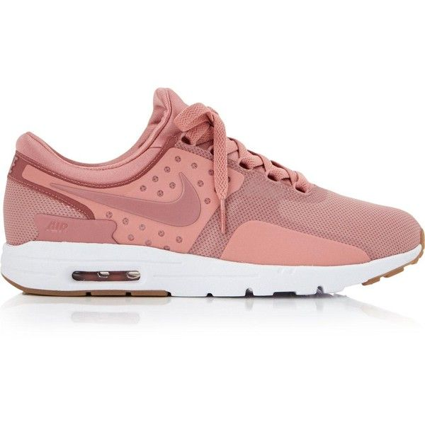 designer fashion 88fc5 3f17b ... switzerland nike air max zero trainers 130 liked on polyvore featuring  shoes sneakers pink sneakersslip 2a36a