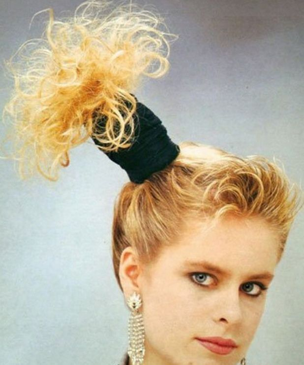 80's wedding hairstyles