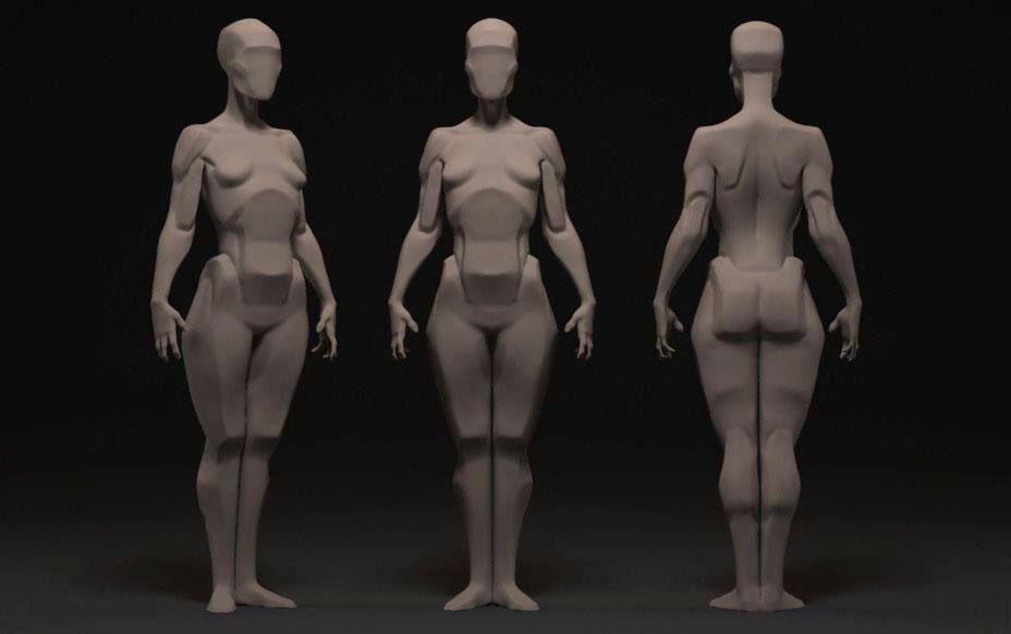 Анатомия для скульпторов ,художников. | _Tutorials | Pinterest ...