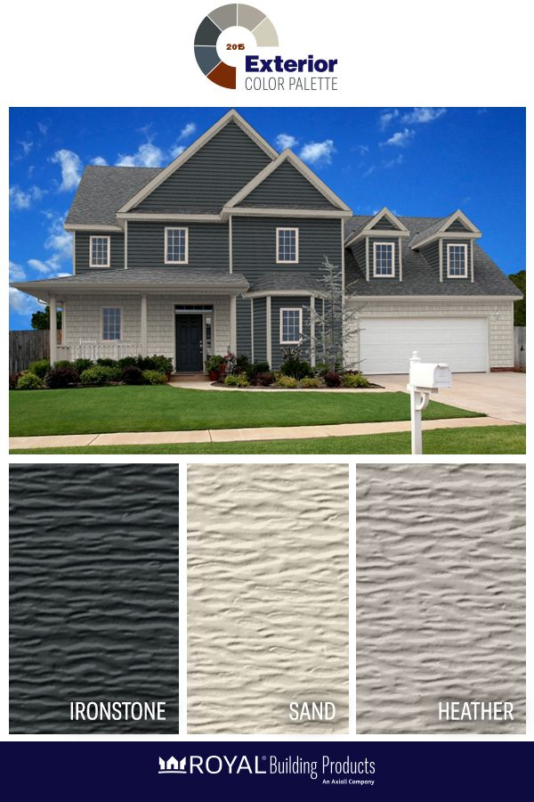 2015 Exterior Color Palette: An exterior look in the blue family ...