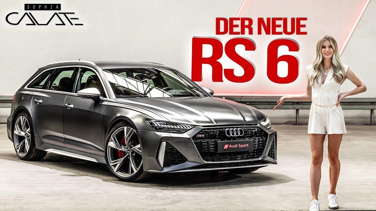 Der Neue Audi Rs6 Avant 2020 Leistung Sound Optik Modellen