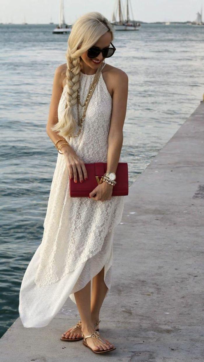 spitzenkleid in weiß - der absolute sommer-trend! | maxi