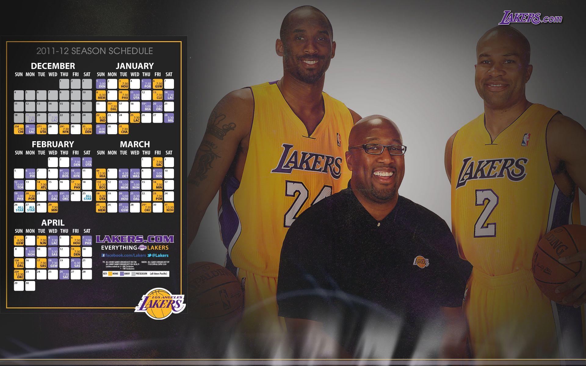 Go Lakers February Wallpaper Lakers Lakers Wallpaper