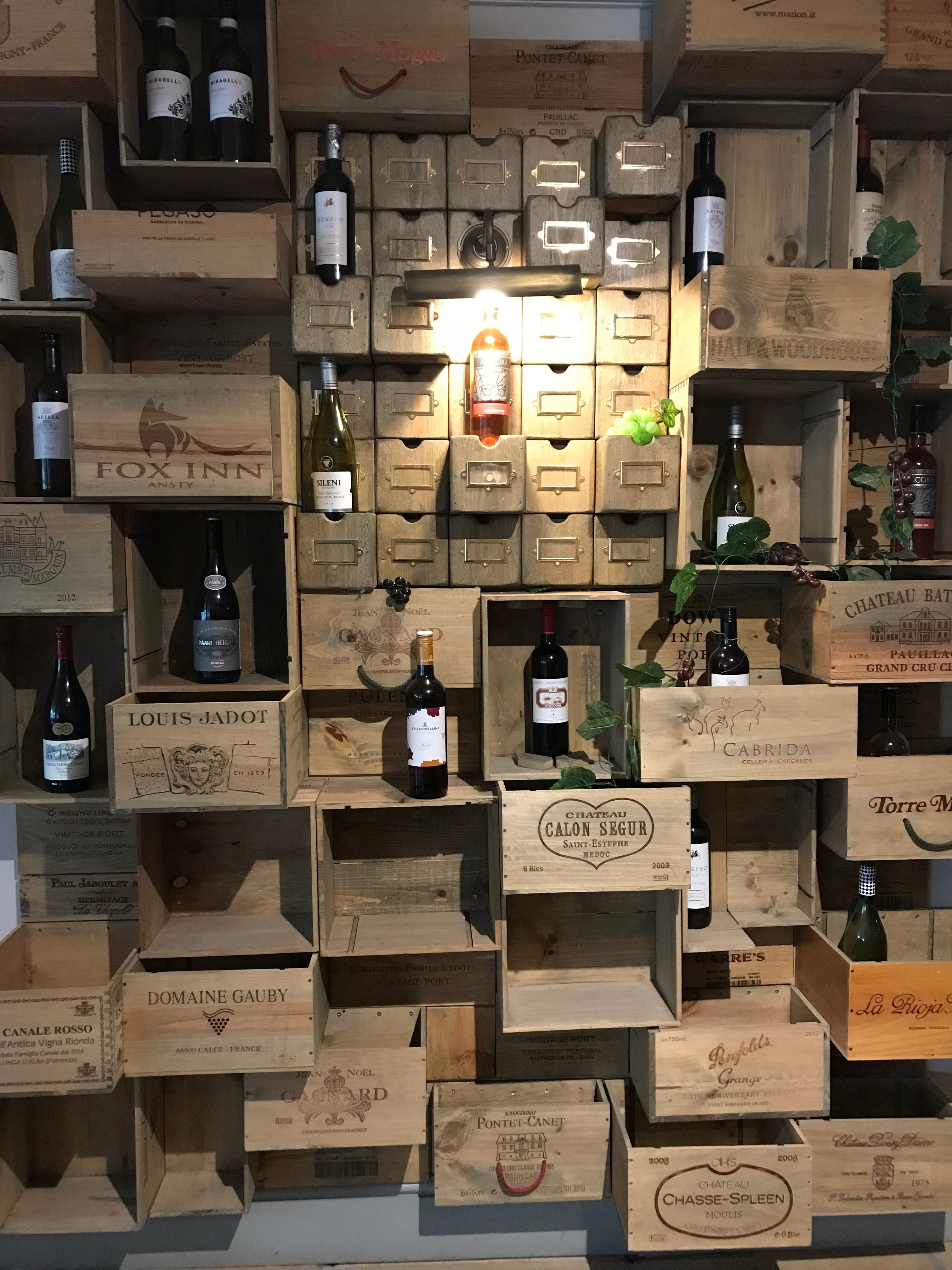 Pin By Luz Feliciano On Craft Ideas Wine Box Crafts Wine Box Wall Wooden Wine Boxes