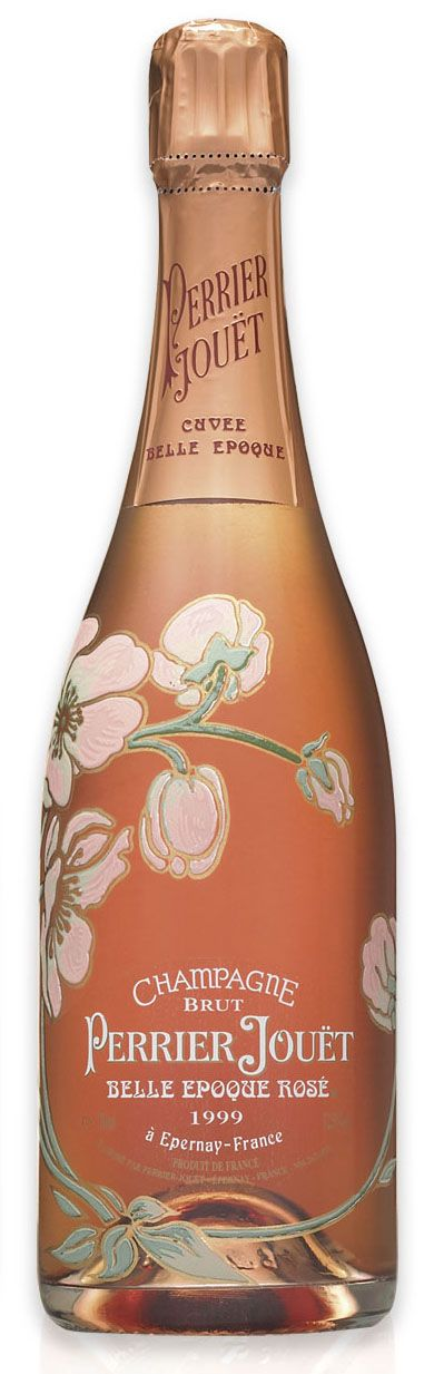 Perrier Jouet Rose. The bottle is so pretty that drinking it is a shame at the…