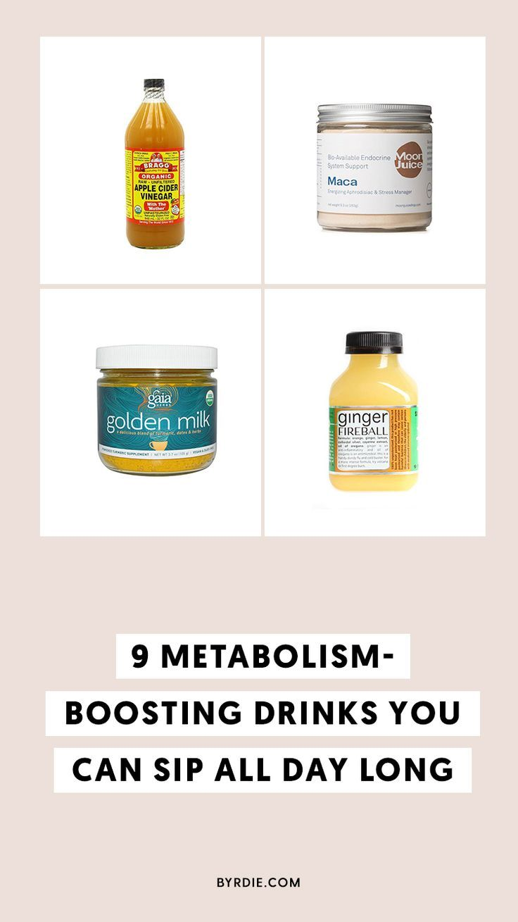 what foods and drinks increase metabolism