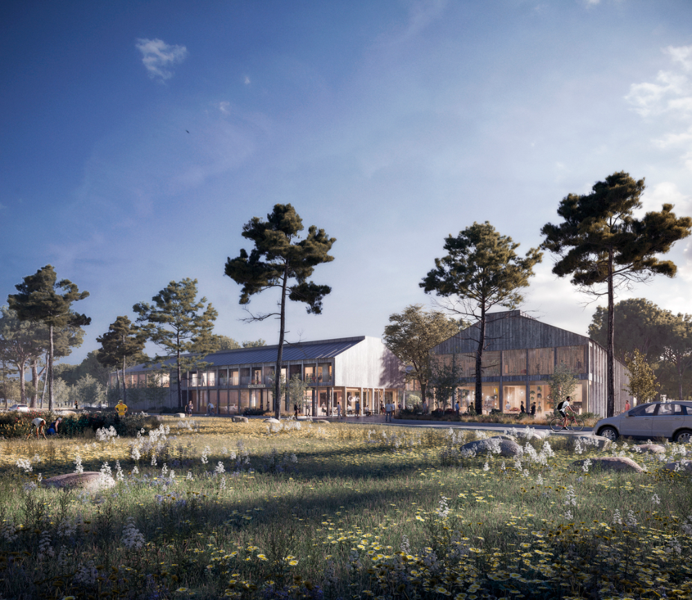 Gallery Of Wta In Praise Of Shadows And Land Arkitektur Imagine Low Impact Headquarters For Housing Association In Sweden 1 In Praise Of Shadows International Design Competition Imagine