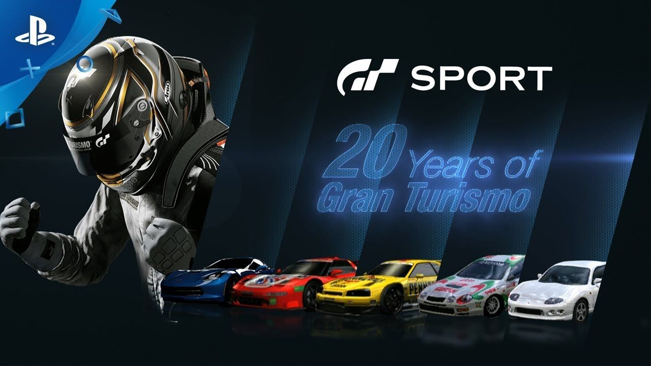 [Video] Gran Turismo Sport 20 Years of GT Playstation4
