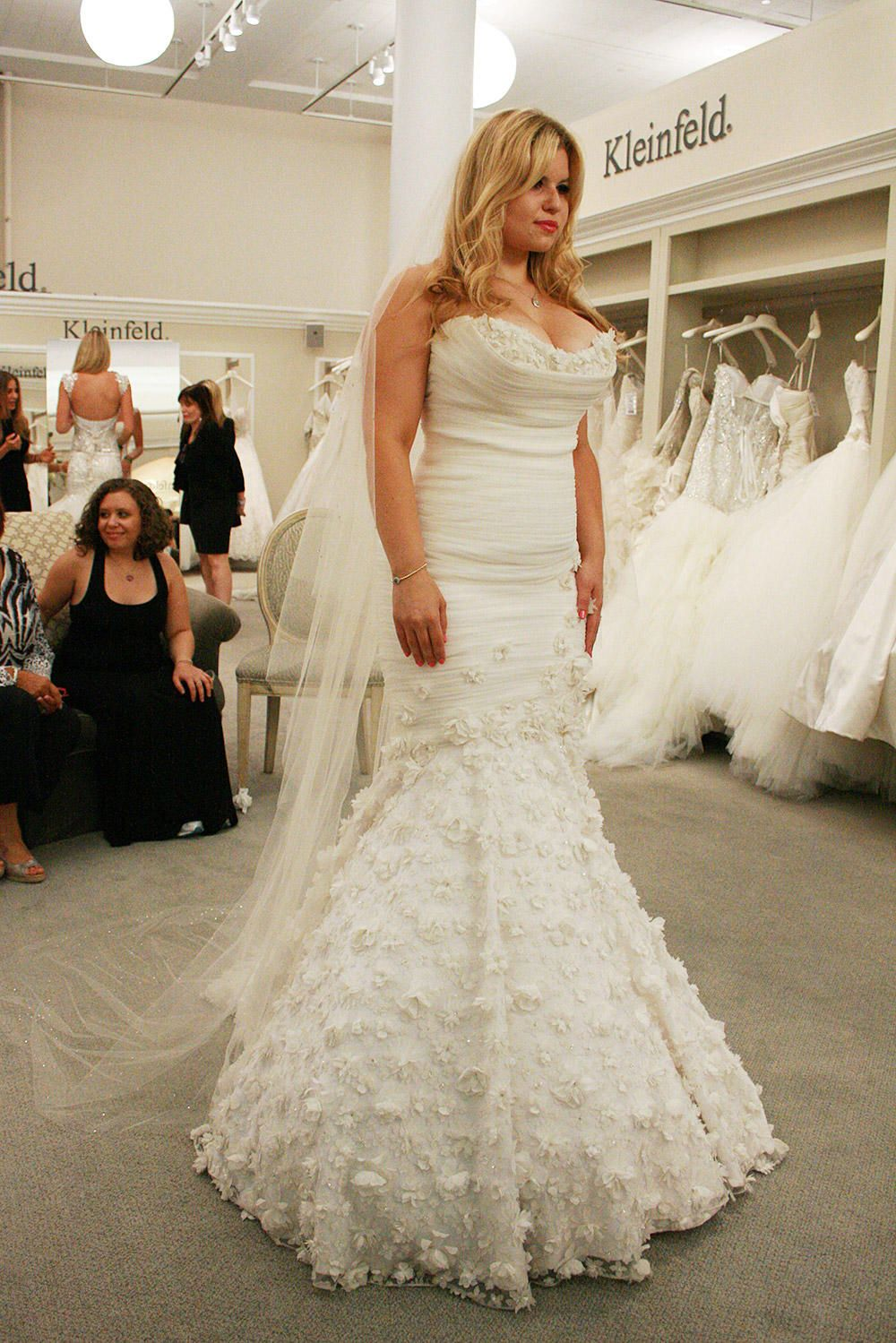 Christie from Say Yes to the Dress Mark zunino wedding