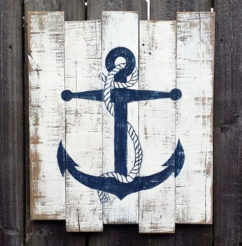 Aye Aye Sailor - Nautical Decor Inspiration #beachcottageideas