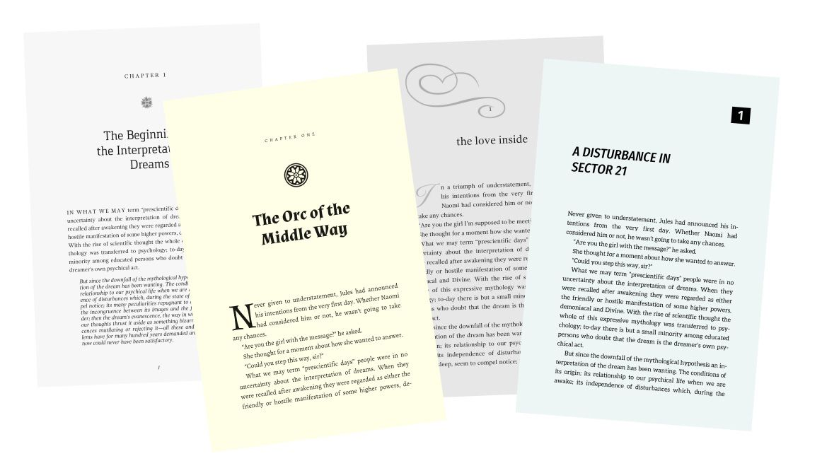 Book Design Templates Tools For Self Published Authors Writers And Bloggers Book Design Templates Book Design Template Design