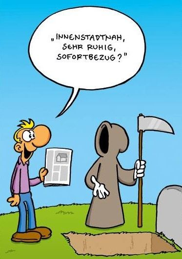sofortbezug gute notes pinterest death cartoon and humor. Black Bedroom Furniture Sets. Home Design Ideas