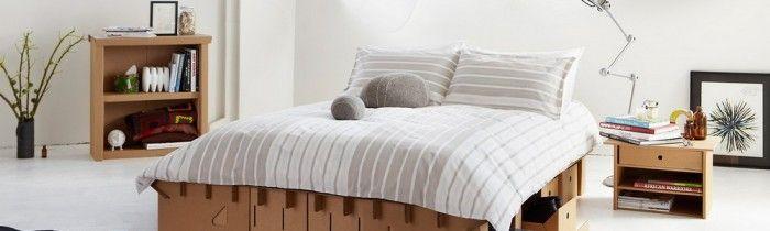 ¿Dormir sobre cartón? Cómodo, económico y ecológico.
