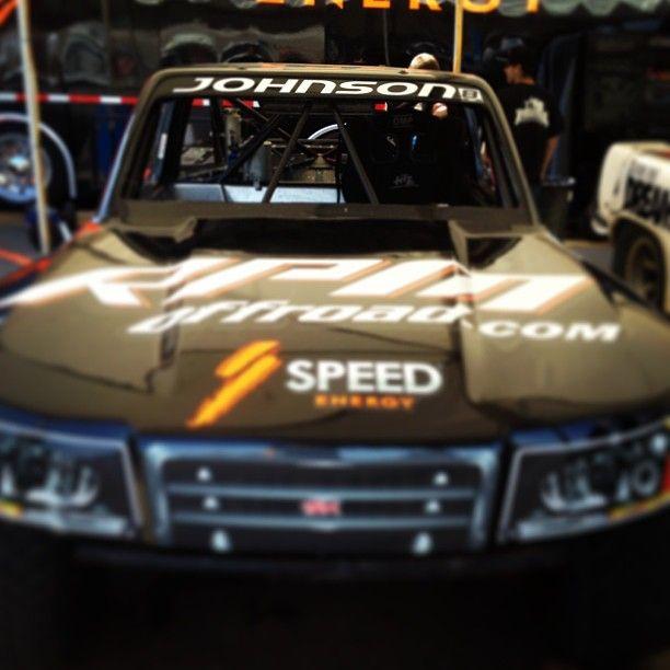 Jessie Johnson got to race Justin Matney's #SST last night in San Diego!