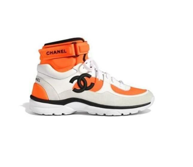 749003f21 Double CC High Top Sneakers (more colors) in 2019 | Shoes | Chanel  sneakers, Shoes, Sneakers fashion