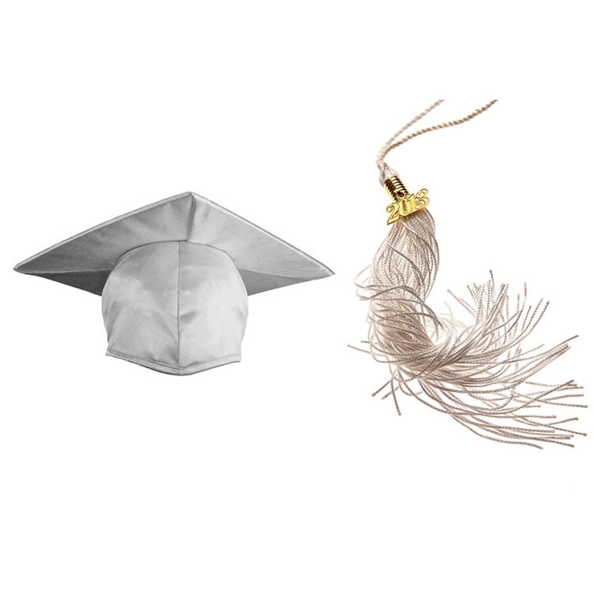 Child Shiny White Cap & Tassel   Graduation   Pinterest   White caps ...