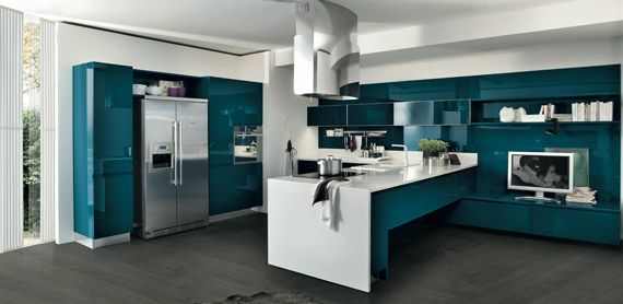 New colors for the Bring models from Stosa | Kitchen Design | Pinterest