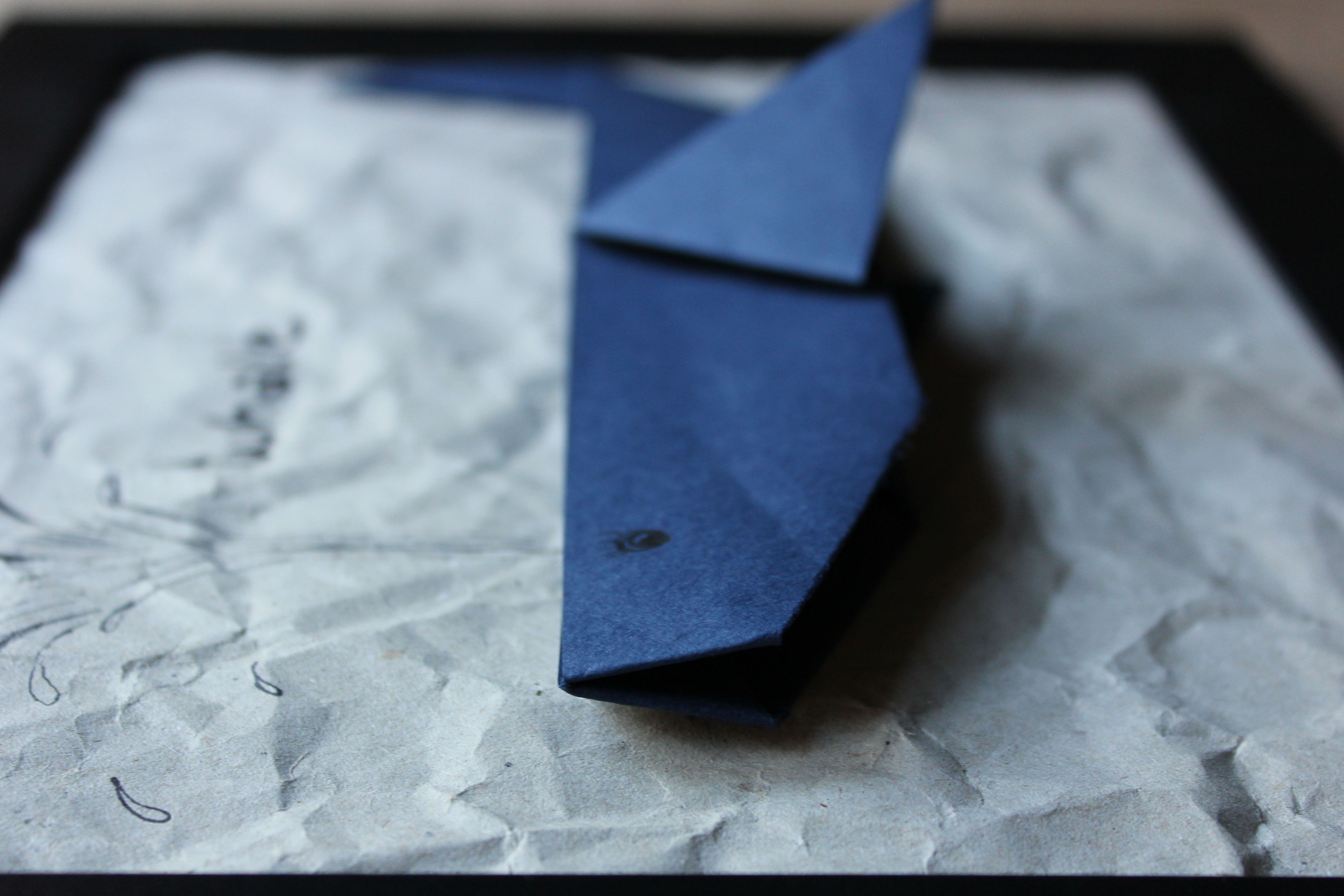 Origami Wal Bilder basteln - www.ohwiewundervoll.com