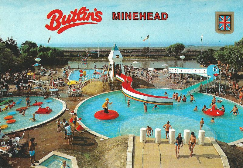 Butlins Minehead Camping Britain And Buckets