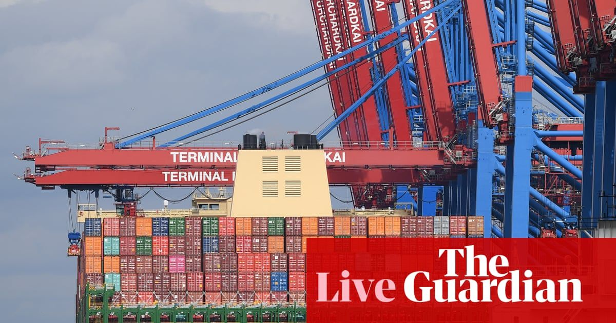 Stock markets slide after collapse in German exports as